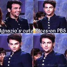 Ignazio charming the fans on PBS! A joy to watch! IL VOLO ❤