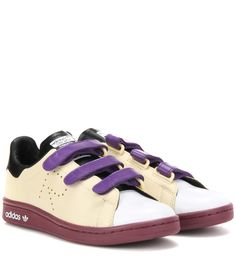ADIDAS BY RAF SIMONS Stan Smith Comfort leather sneakers. #adidasbyrafsimons #shoes #sneakers