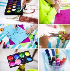 Something I should probably share with my kids or get one for each of us. New Children's Art + Craft Series at IKEA