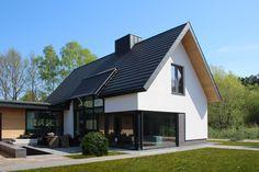 Home Building Design, Building A House, House Design, New House Plans, Modern House Plans, Prefab Homes, Facade House, Future House, Bungalow