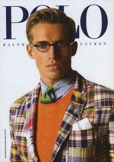 model Andrew Cooper for Polo Ralph Lauren, photo Arnaldo Anaya Lucca #menswear #preppy