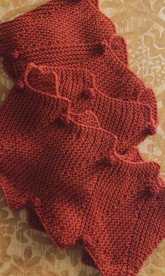 Knitting - Free Pattern - Zig Zag Scarf