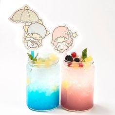 Kiki's Dreamy Soda and Lala's Sweet Soda 780yen each (+tax)