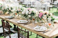 Gorgeous outdoor wedding design | Design and Production: A Good Affair Wedding and Event Production | Photography: The Grovers Photography | Location: Marbella Country Club