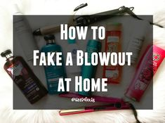 Tired of paying big bucks for a blowout that never lasts or just don't have time to get them on the reg? I'm sharing my tips and tricks on how to fake a blowout at home.because I SUCK at using a round brush. Skin Tag Removal, Hair Removal, Diy Beauty, Beauty Hacks, Beauty Tips, Ancient Recipes, Old Recipes, Younger Looking Skin, Best Anti Aging