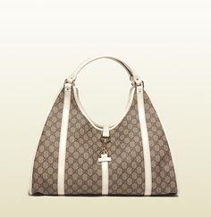 'joy' large shoulder bag with  D ring detail.