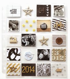 Project Life: 2014 cover page | Elle's Studio Blog