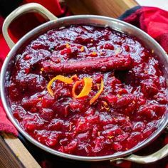 Homemade Cranberry Sauce Recipe | The Gracious Pantry Best Cranberry Sauce, Holiday Tables, Serving Dishes, Pantry, Clean Eating, Good Food, Thanksgiving, Beef, Cleaning