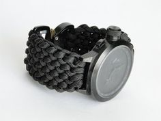 How to Make a Conquistador Paracord Watch Band- DIY Watchband-CbyS - YouTube