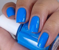 Essie: ♥ Strut Your Stuff ♥ ... GORGEOUS Blue Creme nail polish  from the Haute In The Heat Collection for Summer 2014