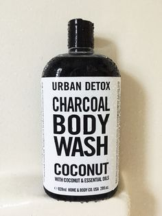 Urban Detox charcoal body wash Coconut Essential Oil, Essential Oils, Healthy Cat Treats, Ikea Bedroom, Body Wash, Simply Beautiful, In This World, Brand Names, Health And Wellness