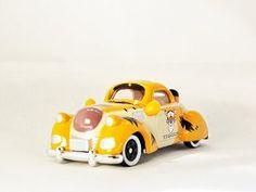 TAKARA TOMY TOMICA Disney Motors Vehicle Car Winnie the Pooh Tigger Diecast Mini Car Figure Orange