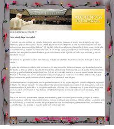 2 DE ENERO 2013. PARTE IV.  Mensaje del Santo Padre Benedicto XVI DEL VATICANO 2013. 02 DE DICIEMBRE 2013.  †♠LOURDES MARIA BARRETO†♠
