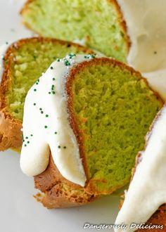 Pistachio Pudding Bundt Cake Recipe
