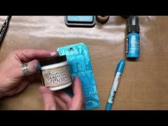 Tim Holtz Distress® Grit-Paste - YouTube   JULY 2016