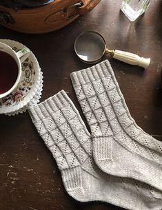 Ravelry: Little Paddocks socks pattern by Ambrose Smith Crochet Socks, Knitting Socks, Crochet Yarn, Hand Knitting, Knit Socks, Knitting Patterns, Crochet Patterns, Knitting Ideas, My Socks