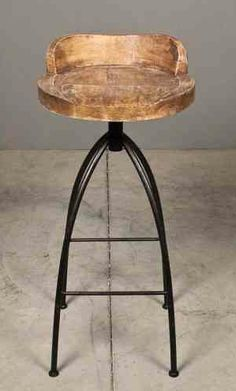 topeka stool from redinfred #Gold