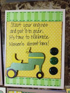 john deere baby shower decorations | Posted by Launa Canning at 12:06 AM