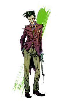 Joker Commission Sample by anjinanhut on DeviantArt Dc Comics Art, Marvel Dc Comics, Comic Books Art, Comic Art, Comic Movies, Joker Kunst, Mma, Joker Und Harley Quinn, Jokers Wild