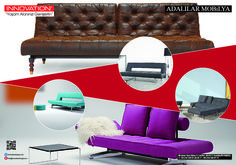 modern sofabed models are waiting you in our showroom  www.innovationliving-tr.com