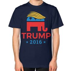 Trump Elephant 2016 - Unisex T-Shirt (on man)