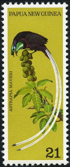 Birds on Stamps: Papua New Guinea
