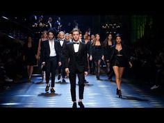 Dolce&Gabbana Fall-Winter 2017-18 Men's Fashion Show - YouTube