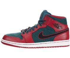 buy popular 88a3e eae8d Nike Jordan Mens Air Jordan 1 Gym Red Black Dark Sea Basketball Shoe 11 Men  US     Learn more by visiting the image link.
