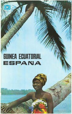 Guinea Ecuatorial, cuando era colonia española.