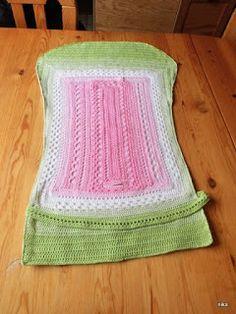 costura - knüten und preien - häkeln und stricken: Nachgehäkelt: Buggy-Sitzauflage