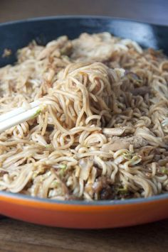 Panda Express Chicken Chow Mein | Wishes and Dishes