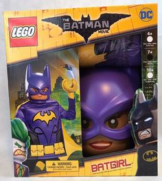 Lego Batgirl from Lego The Batman Movie Child Costume 2017 Brand new in box, never opened Small scratch on mask, please see picture Size Medium, Ships USPS standard mail Halloween Costumes For Sale, Halloween News, Fancy Costumes, Holidays Halloween, Lego Batgirl, Batgirl Costume, Unicorn Party Costume, Aladdin Costume, Pirate Fairy