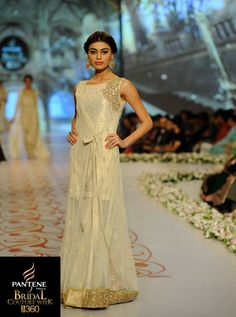 Regal & alluring dress by Asifa & Nabeel at the Pantene #Bridal Couture Week