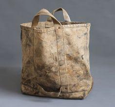 Vintage Heavy Duty Canvas Tote lineman coal bag | Canvas totes ...