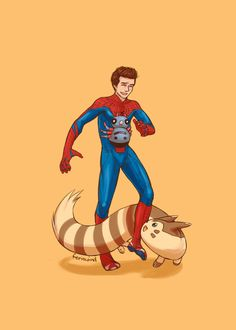 Peter wants to be the very best, like no spider ever was