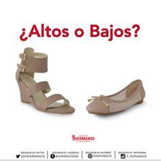 ¿Altos o Bajos?  #Mujer #Zapatos