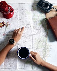 Something I absolutely love is outdoor travel. I got together with Fossil to share with you a few tips on how to pack for the outdoors! Flat Lay Inspiration, Travel Inspiration, Watches Photography, Adventure Style, Camping Outfits, Best Places To Eat, Packing Tips, Travel Pictures, Travel Pics