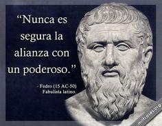 Fedro, fabulista latino.