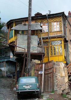 Gomi Street House, Solokaki Neighborhood, 2002, Tbilisi, Georgia