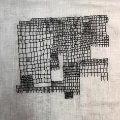 """494 Likes, 7 Comments - Aideen Canning (@aideenslace) on Instagram: """"#embroidery #stitch #blackandwhite"""""""