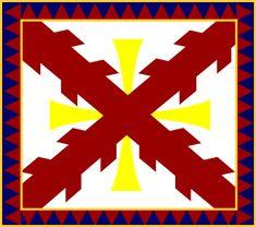 La Cruz de Borgoña, Primera Bandera de España Flag Colors, Colours, Army History, Thirty Years' War, Creative Skills, Knights Templar, Prehistory, Cartography, Religion