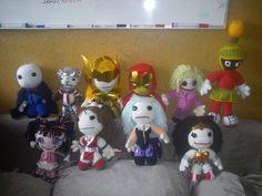 Muñecos, hechos totalmente a mano con estambres y materiales de excelente calidad.. deseas ser o tener un muñequito??   contáctame te ayudo =D