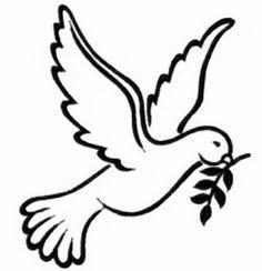 dove clipart image a white cartoon dove with a blue cross gift rh pinterest com dove clip art free images dove clip art pictures