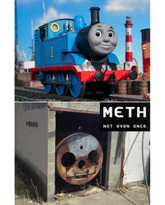 Sometimes I think I can do meth, and then I think... eh, better not.  via Tastefully Offensive on Tumblr