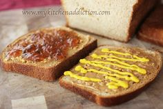 Peanut Butter, Jelly and.... Mustard. I will be trying this.