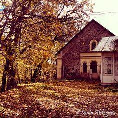 Autumn  Sigulda Latvia  woodland photography  by BlossomingDream