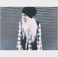 White hair!!