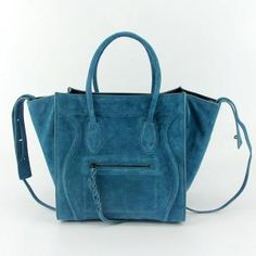 183ce43e02 Celine Lady Bags In Suede Greenblack Leather 1018905 Outlet