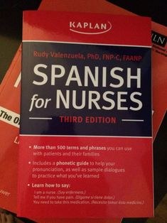 40 Spanish Phrases Every Nurse Should Know #nursebuff #spanishphrases