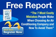 """""""The 7 Most Costly Mistakes People Make When Choosing An Air Conditioning Company and How to Avoid them """" Air Conditioning Companies, Air Conditioning Installation, Electricity Bill, Air Conditioners, How To Remove, How To Make, Mistakes, Filter, The Unit"""